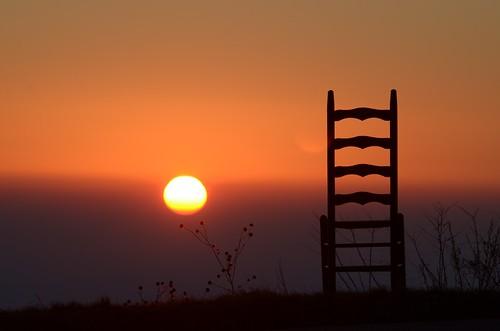 sun sunrise thechair blueridgeparkway