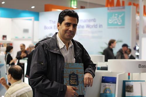 Mehdi Moqiseh (Matn Publishers) - Frankfurt Buchmesse 2014