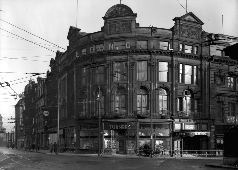 Eldon Buildings, Blackett Street, 1950