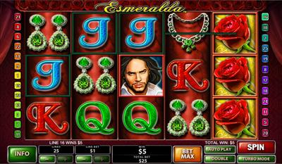 Esmeralda slot game online review