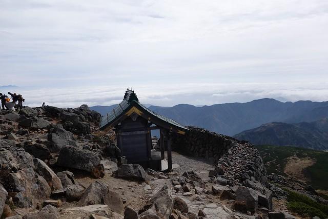 白山セカンドアタック9 下山開始