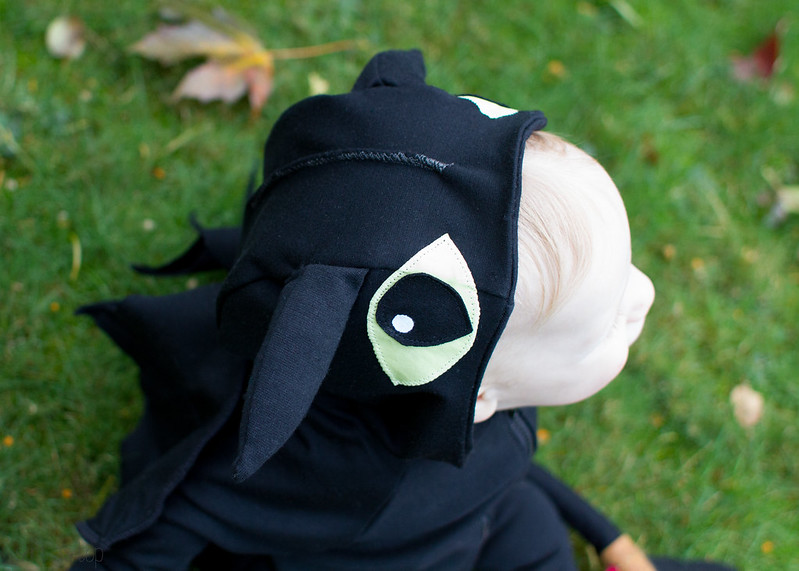 baby toothless the night fury costume
