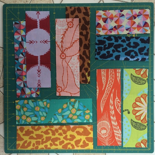 Pairings for a new pattern.