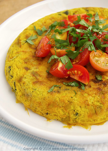 Rice Cooker Vegan Frittata