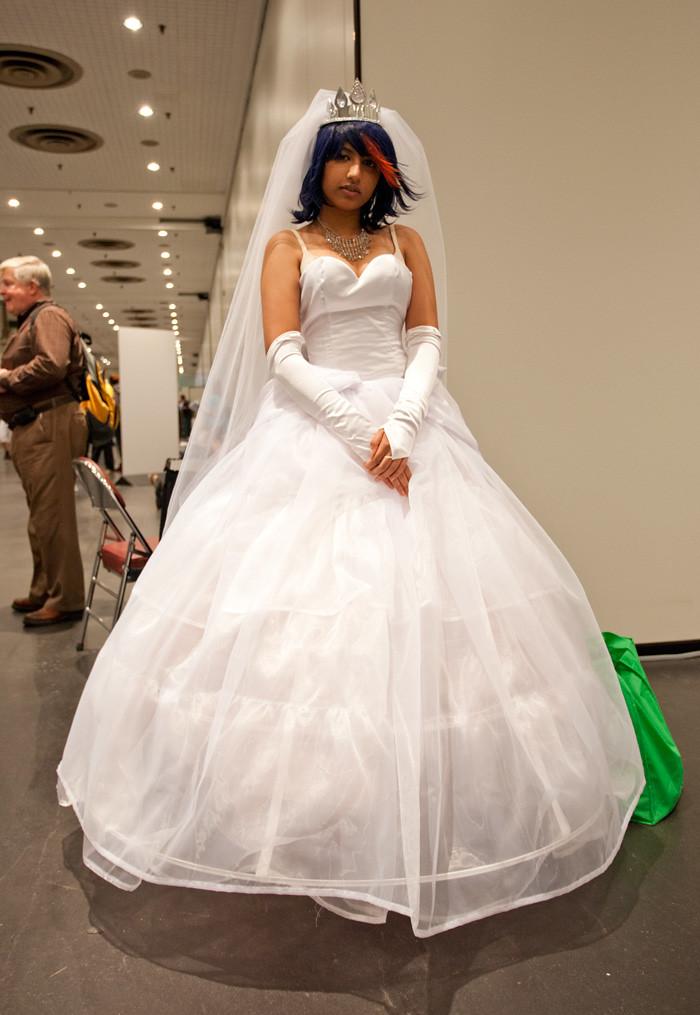 Nycc 2014 Wedding Dress Ryuko Cosplay Frasbob Flickr