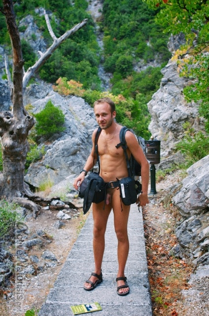 naturist 0000 E4 trail, Mount Olympus, Greece