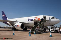 N420FE - 339 - FedEx - Airbus A310-222(F) - Fairford RIAT 2006 - Steven Gray - CRW_1764