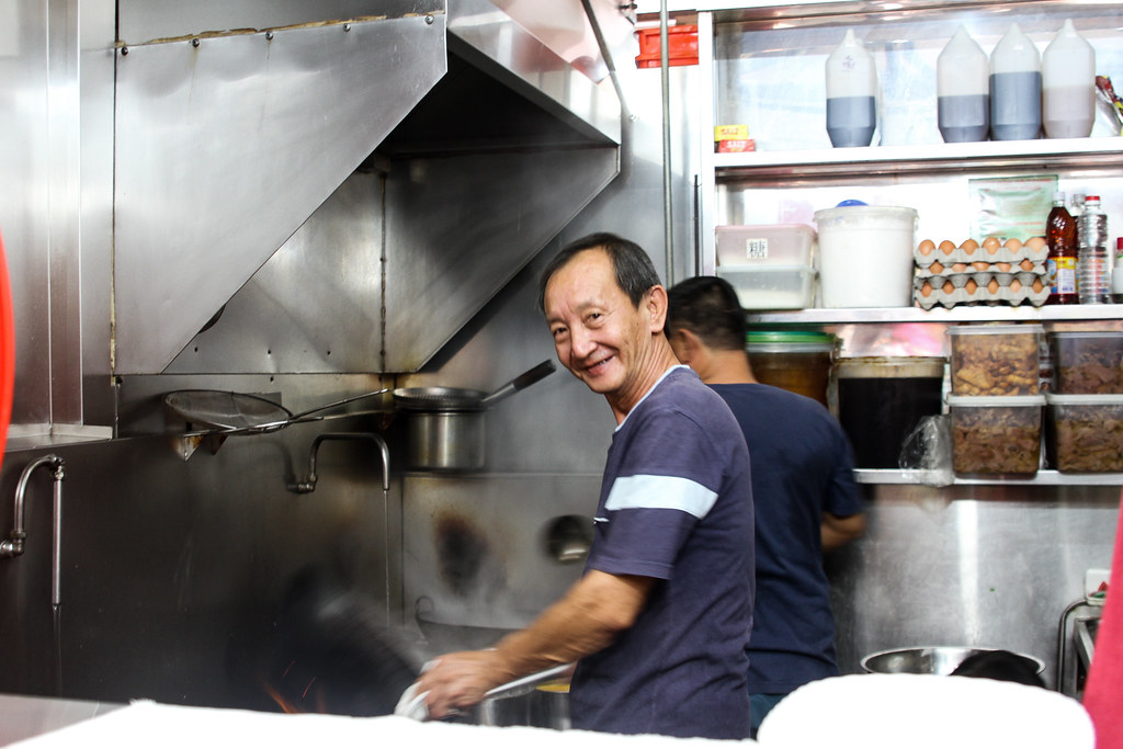 Clementi 448 Market & Food Centre: Kee Hock's owner