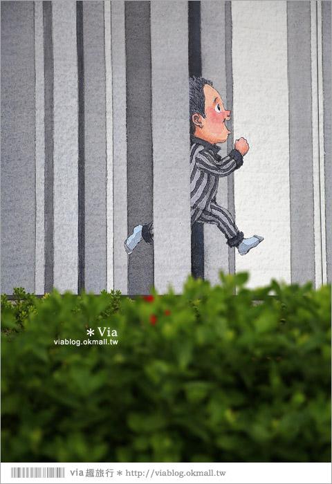 【南科幾米】台南|台積電南科幾米裝置藝術小公園~願望盛開‧許諾之地33