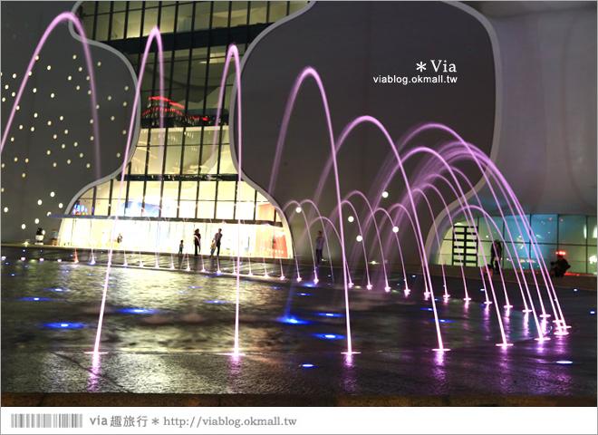 【大都會歌劇院】台中國家歌劇院~夜間水舞篇。光舞紀/光影藝術節13