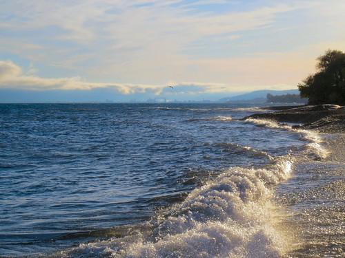 beach minnesota waves northshore duluth lakesuperior highway61 oldroute61