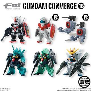 FW Gundam Converge 第18彈 盒玩