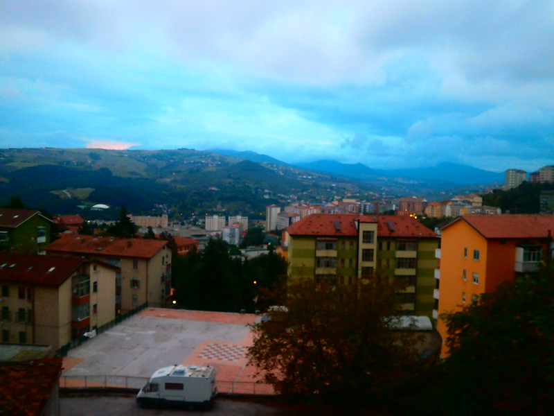 View from the top of Potenza