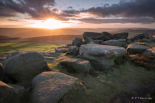 sunset clouds nationalpark rocks derbyshire peakdistrict stanageedge 1dx leefilters canon1dx