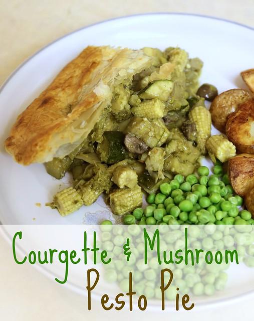 Courgette & Mushroom Pie