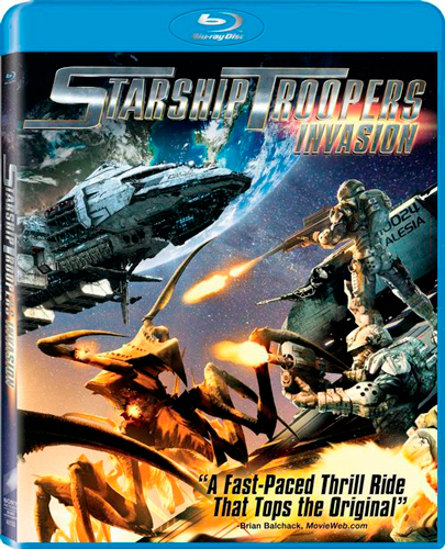 Starship Troopers Invasion Торрент