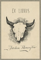 [Bookplate of Frederic Remington] (LOC)