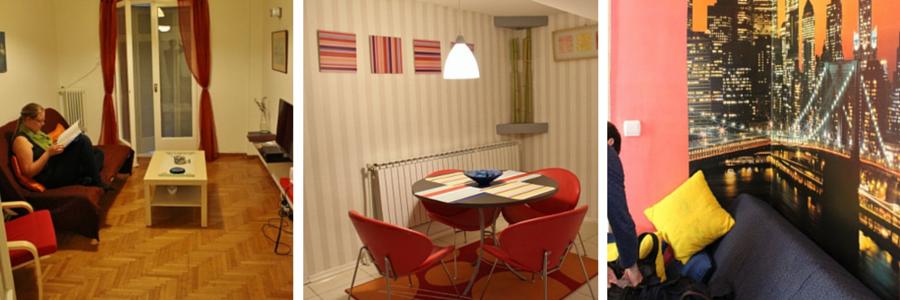 Airbnb huoneita