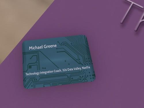 DAY THIRTEEN: Business Card