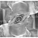 Super-imposed self-portrait by daveelmore