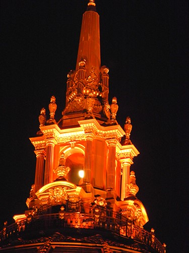 DSCN7879 - San Francisco City Hall in SF Giants' Orange Glow