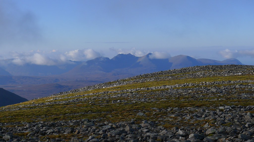 Mist over An Teallach
