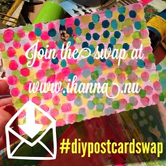 Join the DIY Postcard Swap instagram image #diypostcardswap