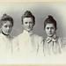 CDV Portrait of three young women - Germany - 1900 by Patrick Bradley 70