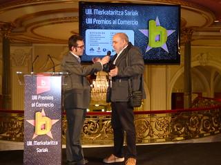 Premio a and&o como mejor idea comercial en la VIII Gala del Comercio de Bilbao (Foto: Bilbao Dendak).