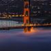 Golden-Gate Fog by Susan Holt Photography