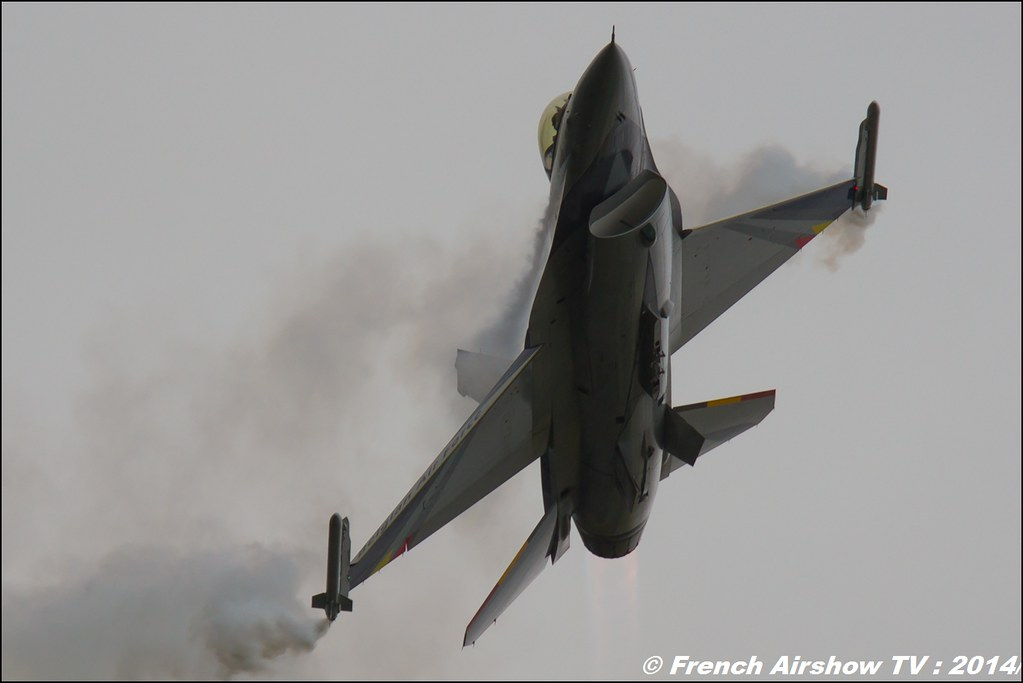 F16 Solo Display Team belge 2014 ,Royal International Air Tattoo 2014