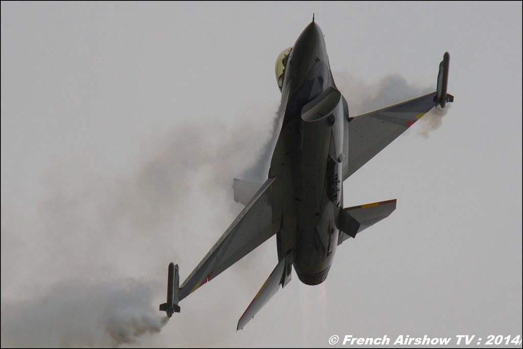 F16 Solo Display Team belge 2014 ,Royal International Air Tattoo 2014