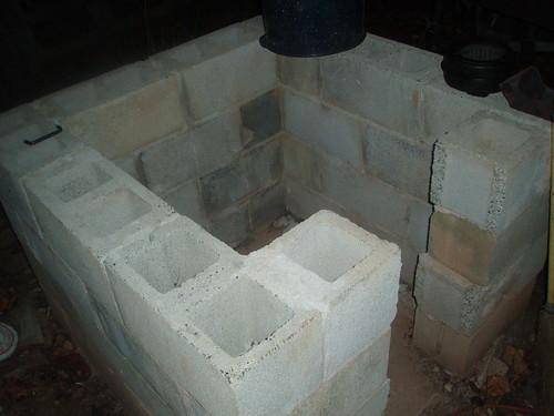 Bake oven base