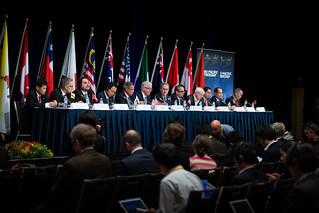 The Trans-Pacific Partnership Ministerial Meeting in Sydney, 27 October.