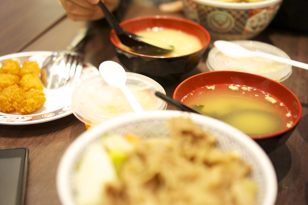 Yoshinoya Meal Set