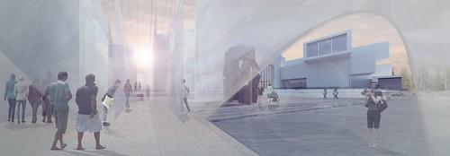 北美館2015年X-site計畫優勝團隊「共時書寫建築工作坊+人嶼Legacy Lab International」發表作品《未知的質域》 概念