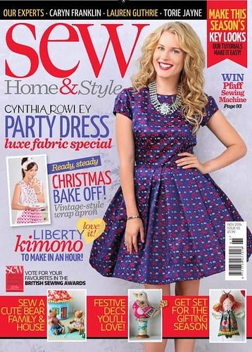 Sew Magazine November 2014