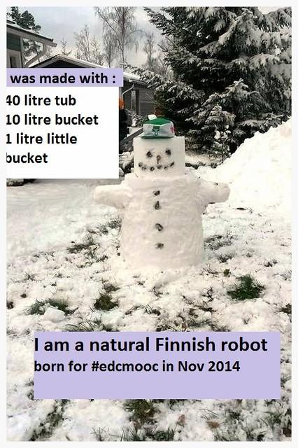 snow robot