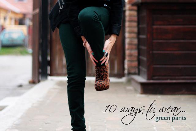 10 -ways-to-wear-green-pants-cipelica-stiklica