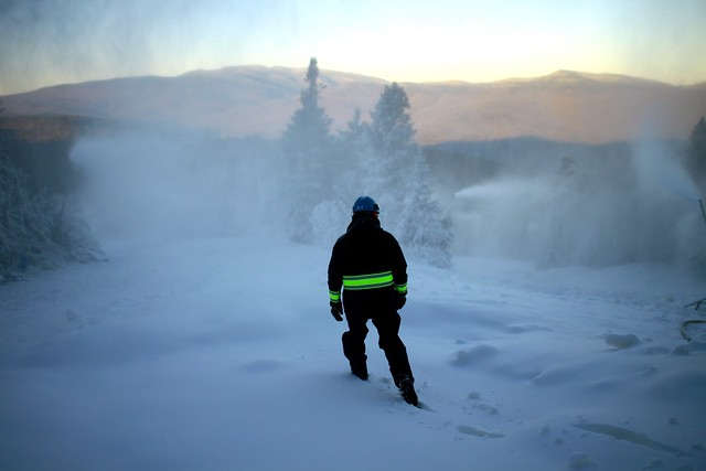 Loon Mt. snowmaking