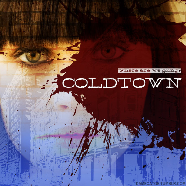 Cover art for my Coldtown fanmix