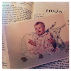 This has been in my little New Testament since I went to Russia in 1998. Love you my sweet niece!