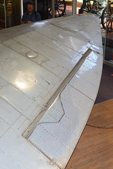 Wing detail on Spitfire HF.VIIIc '5501'