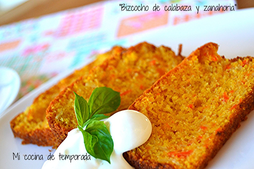 Bizcocho de calabaza y zanahoria 018