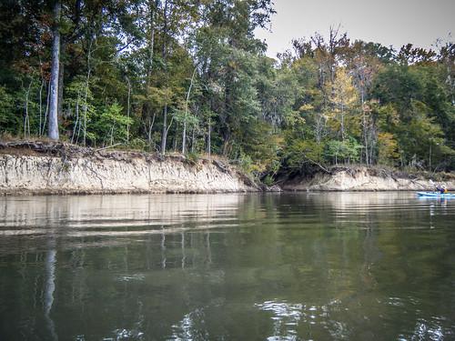Savannah River from Stokes Bluff with LCU Nov 7, 2014, 4-18 PM Nov 8, 2014, 10-14 AM