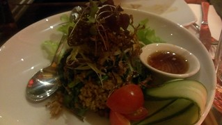 Green Mango and Snake Bean Fried Rice at Yulli's
