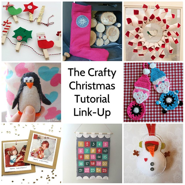 The 2014 Crafty Christmas Tutorial Link-Up C
