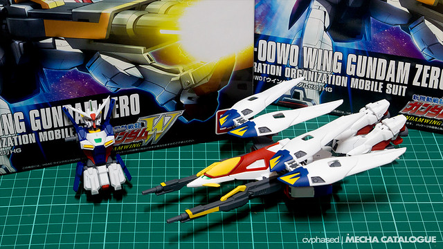HGAC Wing Gundam Zero - Completed Build
