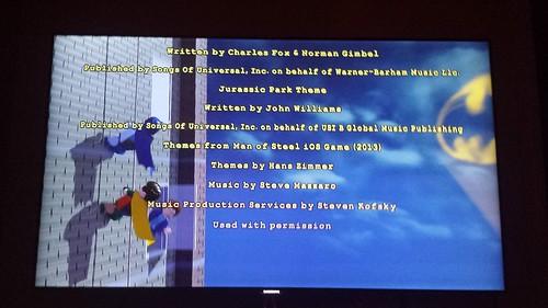 LEGO Batman 3: Beyond Gotham Credits