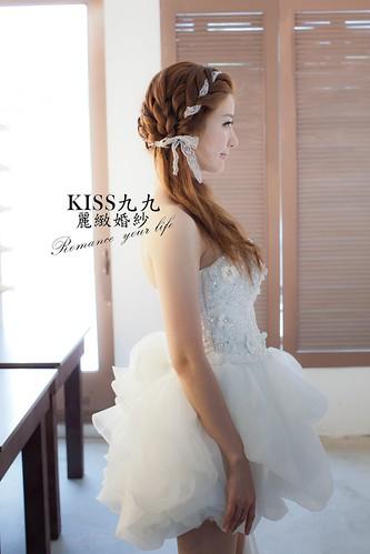 高雄KISS九九麗緻婚紗韓風婚紗攝影分享-造型 (1)